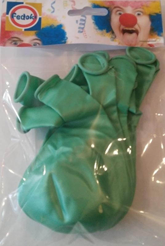 Ballon groen parelmoer