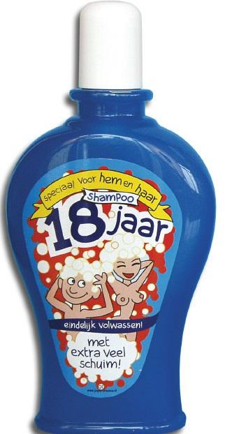 Shampoo 18 jaar