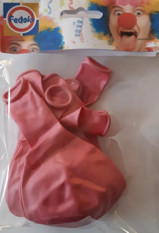Ballon roze parelmoer