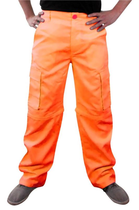 Afritsbroek oranje