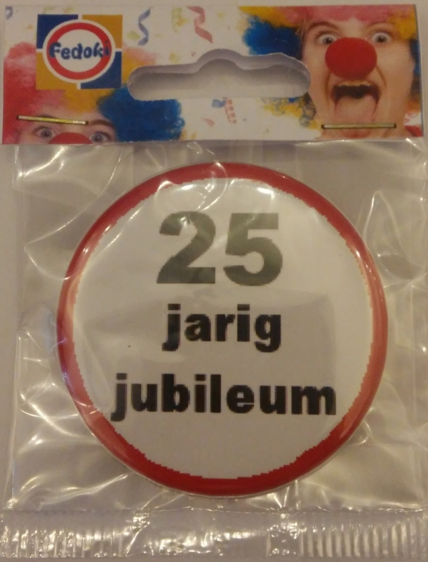 Button 25 jubileum