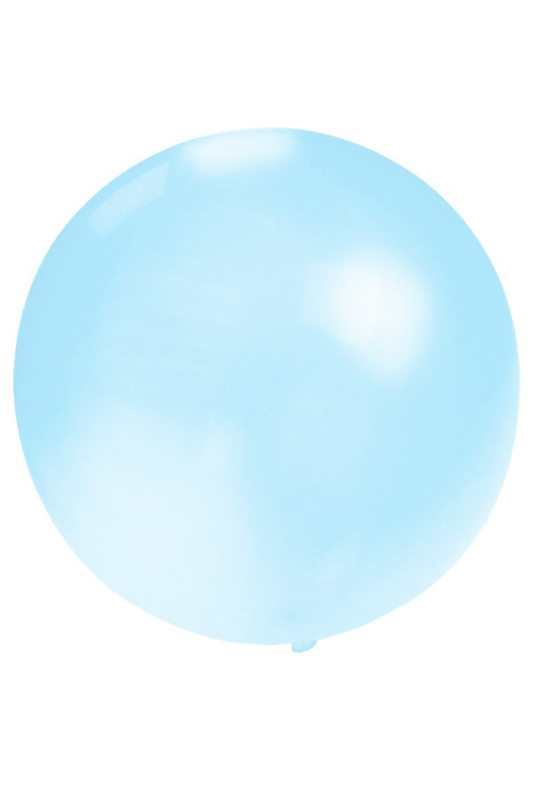 Grote blauwe ballon