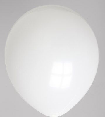 Ballonnen  wit verpakt per 100