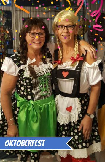 Oktoberfest themafeest