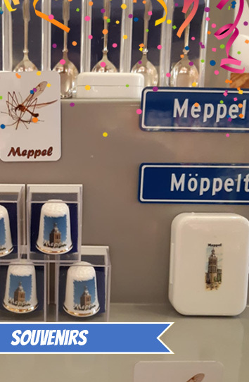 Souvenirs uit Meppel