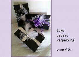 Luxe cadeau verpakking