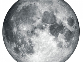 Wallsticker Moon