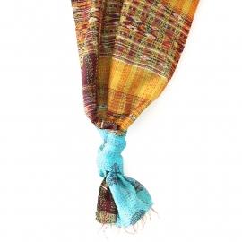 Sjaal kantha silk Baja