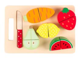 Snijplank met groenten en fruit Sass & Belle