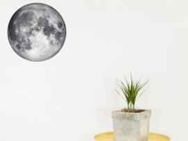 Wall Sticker Moon, Glow In The Dark