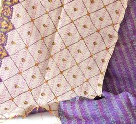 Sjaal kantha silk Aimee