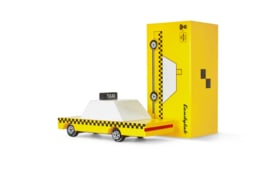 Candylab Toys Yellow Taxi Candycar
