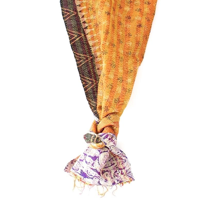 Sjaal kantha silk Mila
