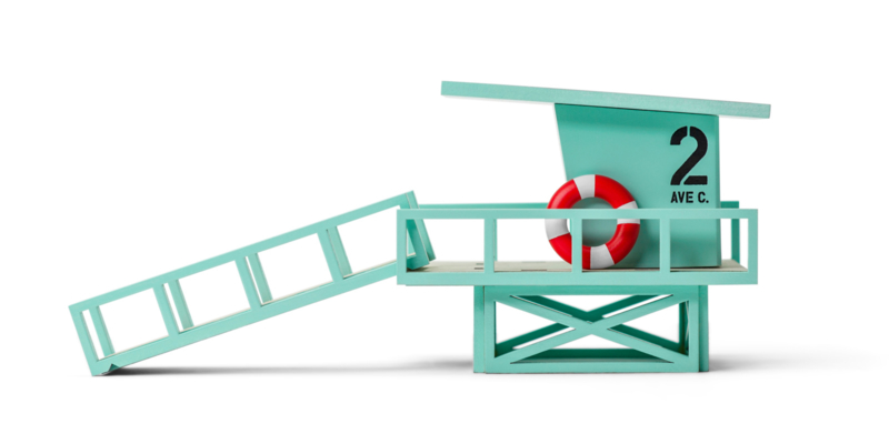 Candylab Toys Malibu Beach Tower
