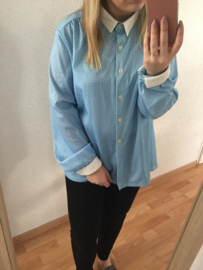 Polkadot blue