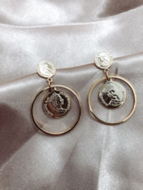 Earrings - Coin Coin