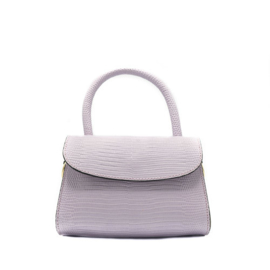 Bag - Mini Croco - Purple
