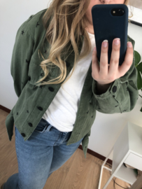 Star Jacket - Army Green