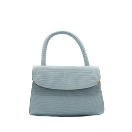 Bag - Mini Croco - Blue
