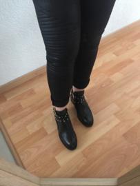 Biker broek - Zwart