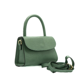 Bag - Mini Croco - Green
