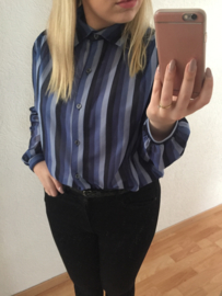 Blue tone blouse