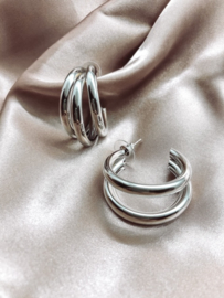 Earrings - Three rings
