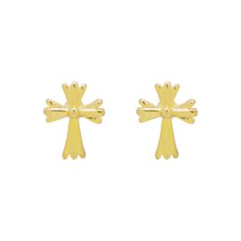 Earrings - Mini cross