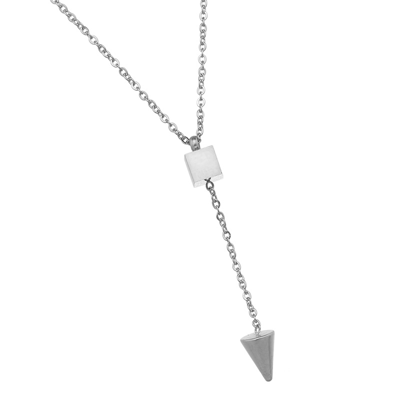 Ketting Square - Zilver