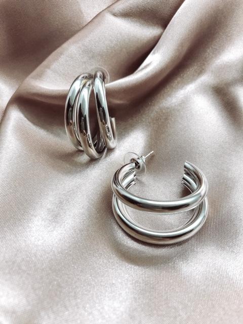 Earrings - Three rings