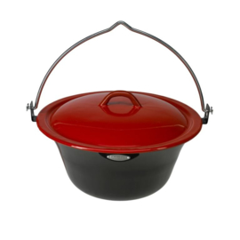 Bonfire pan met deksel 6 liter