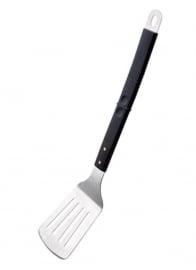 Paellapan RVS spatel met kunstof handgreep 48 cm.