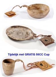 Kupilka Set - Medium bord, Kom 550cc en GRATIS Cup 50cc