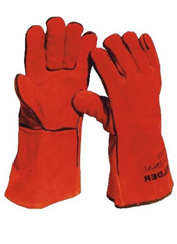 Barbecue handschoenen, Rood