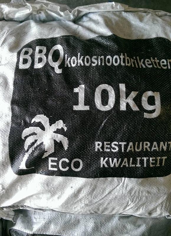 BBQ kokosnootbriketten 10 kg