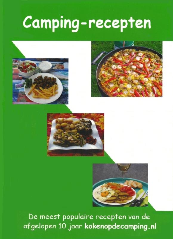 Camping receptenboek eenvoudig en snel