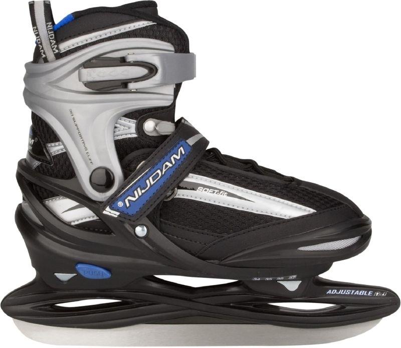 3172 Nijdam IJshockeyschaats Junior Verstelbaar •softboot
