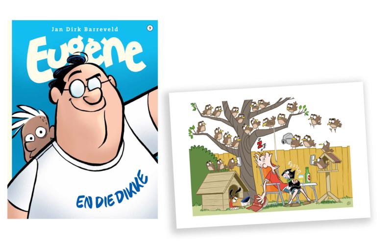 Eugene 9, met ex-libris