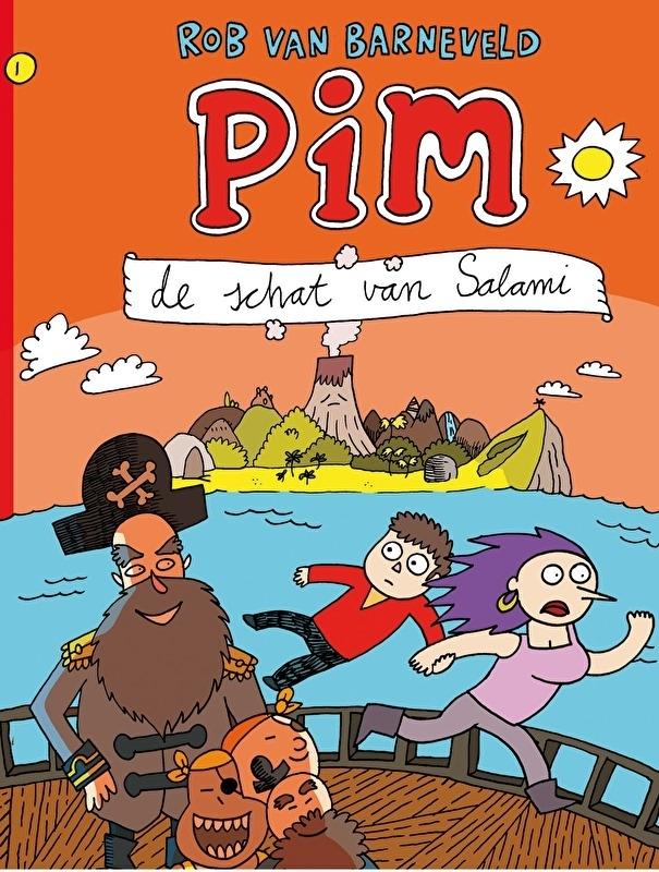 Pim 1, De Schat van Salami (herdruk sc)