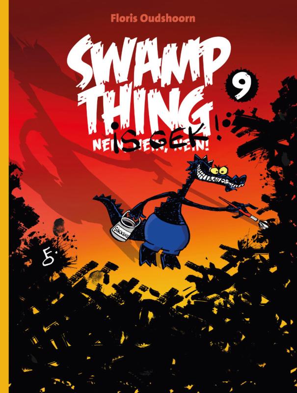 Swamp Thing is gek!