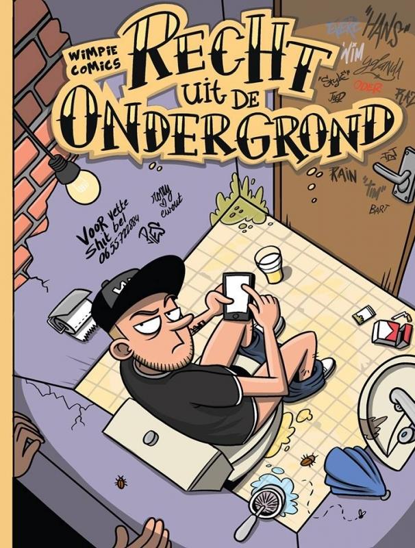 Wimpie Comics 1, Recht uit de Ondergrond
