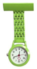 Verpleeghorloge groen