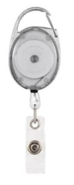 Badge jojo clip wit transparant