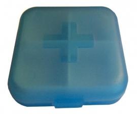 Medicijnbakje blauw