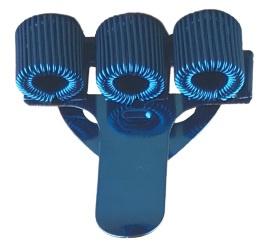 Penhouder blauw