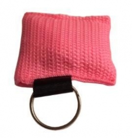 Reanimatie sleutelhanger roze