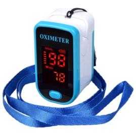 Saturatiemeter blauw