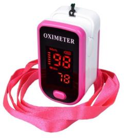 Saturatiemeter-oximeter roze