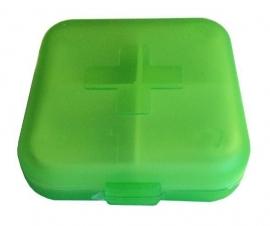 Medicijnbakje groen