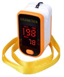 Saturatiemeter-oximeter geel